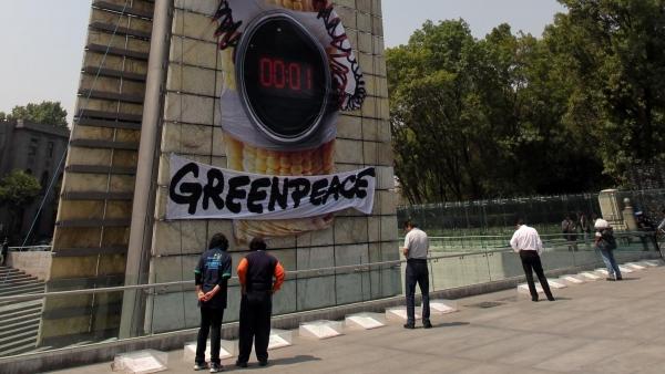 Greenpeace en la Estela de Luz