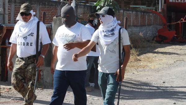 Grupos de autodefensa en Michoacán
