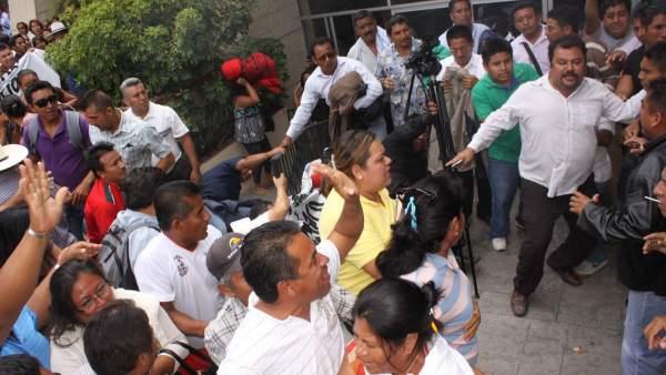 Trifulca PRD Oaxaca
