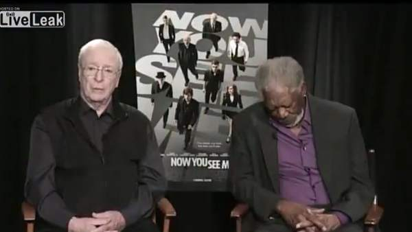Morgan Freeman y Michael Caine