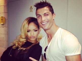 Cristiano Ronaldo y Rihanna