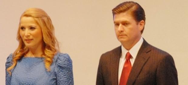 Margarita Arellanes y Rodrigo Medina