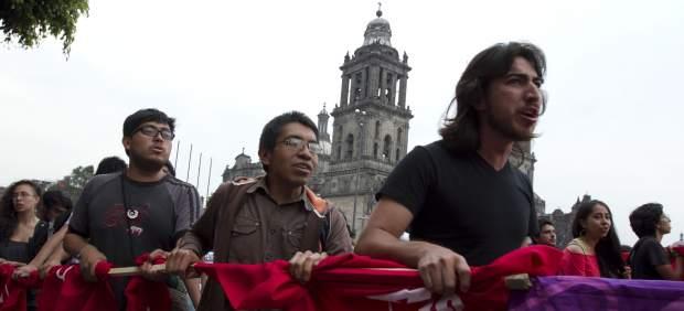 Protestas por los detenidos el 10 de junio.
