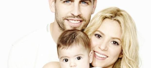 La familia de Shakira y Piqué