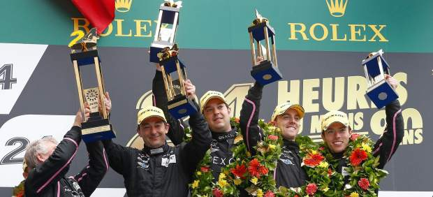 Ricardo González en Le Mans