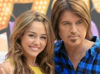 Miley Cyrus y Billy Ray Cyrus