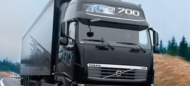 Operador de camiones área de servicio gay porno