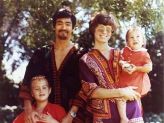 Bruce Lee's family,  1970s