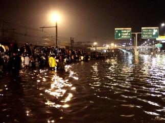 Inundaciones en el Distrito Federal