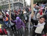 Barricadas de la CNTE