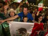 Mexicanos celebran el Grito en Barcelona