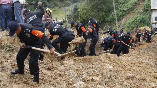 Deslave en Veracruz