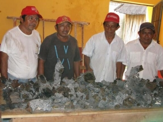 Objeto del espacio en Yucatán