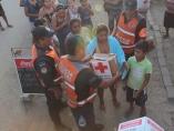 Tras las inundaciones en Guerrero
