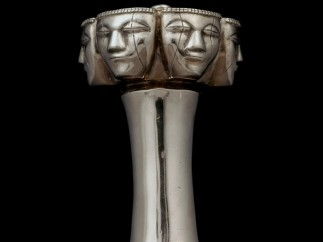 ´Poporo top with human faces´, Quimbaya, AD600-1100
