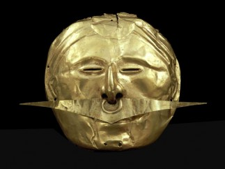 ´Mask with nose ornament´, Quimbaya, 500 BC – AD 1600