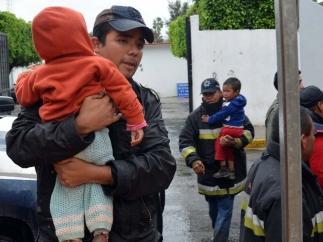 Desalojos en Guerrero
