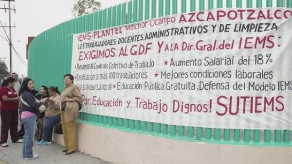 Huelga trabajadores preapratorias