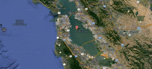 San Francisco, en Google Maps