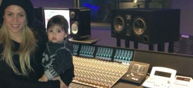 Shakira junto a Milan