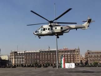 Helicópteros y aviones