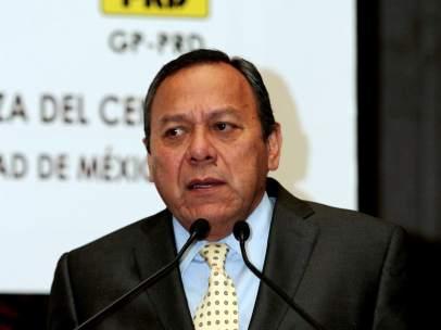 Jesús Zambrano, líder nacional del PRD