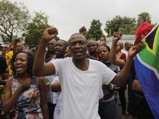 Cánticos en Johannesburgo
