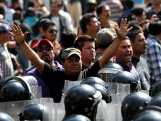 Protesta de Morena