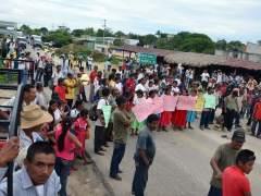 Bloqueo de carretera de Guerrero