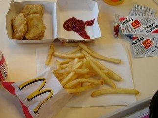 Menú de McDonald's