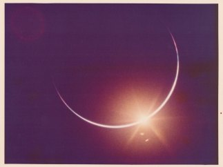 ´Eclipse of the Sun by the Earth´. ´Apollo 12´. November 1969