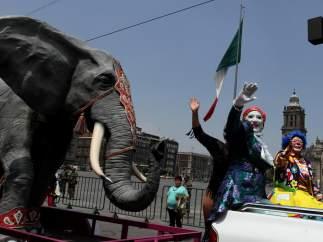 Un circo con animales