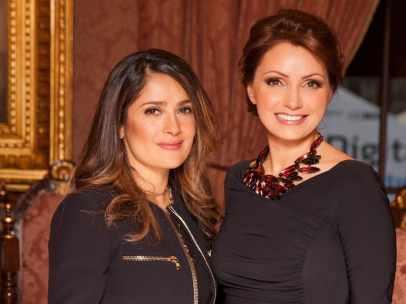 Angélica Rivera y Salma Hayek