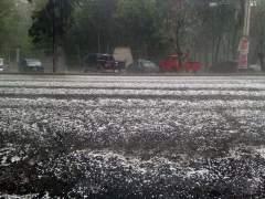 Lluvia con granizo