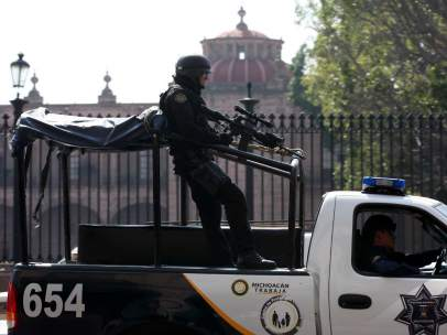 Policía Municipal Michoacán