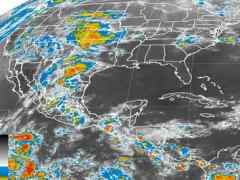La depresión tropical 1-E podría convertirse en tormenta Amanda