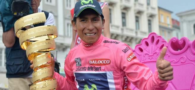 Nairo Quintana gana el Giro de Italia 2014
