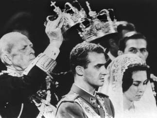 Boda de Juan Carlos de Borbón