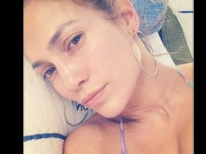 Jennifer López al natural