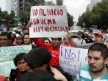 Protesta 'Hoy no circula'