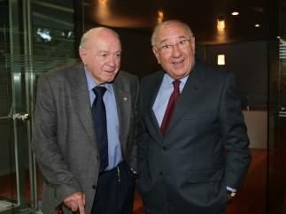 Dos leyendas juntas