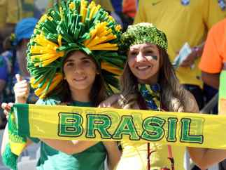 Fanáticos en el Mundial