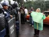 Protestas contra el 'Hoy No Circula'