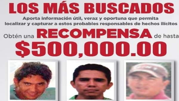 Edomex ofrece recompensas de hasta 500 000 pesos por los 16 delicuentes m s buscados - Libros antiguos mas buscados ...