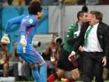 El 'Piojo' celebra un gol