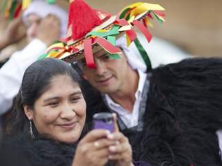 Selfie indígena