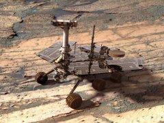 Autorretrato del rover Opportunity en Marte
