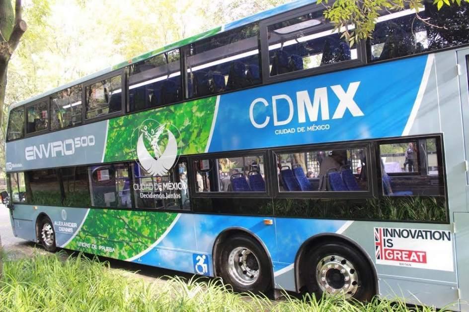 Autob s de dos pisos circula a prueba en la ciudad de m xico - Autobuses de dos pisos ...