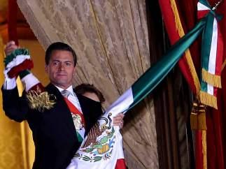 Peña Nieto da su segundo Grito