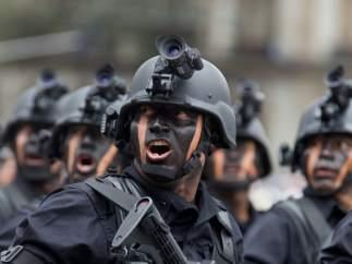 Fuerzas desplegadas